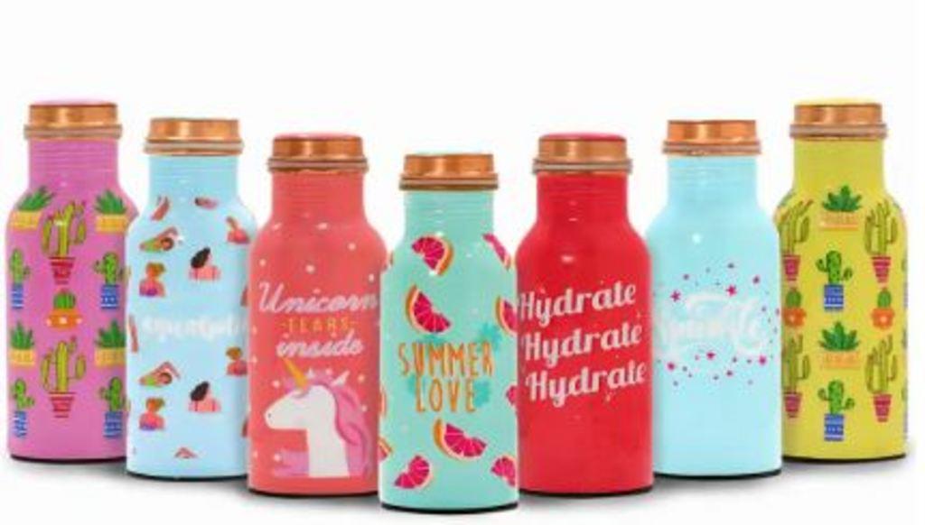 Buy Printed Copper Bottles - POPxo Shop via sudipan mandal