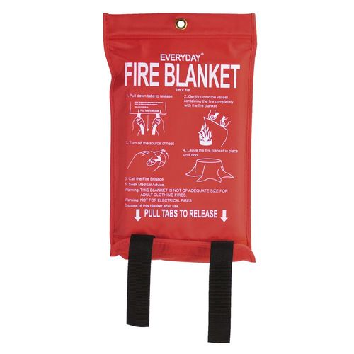 Fire blankets for sale via Fire Protection WareHouse