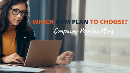 Most popular MLM plans in the market are Binary MLM plan and... via Infinite MLM Software