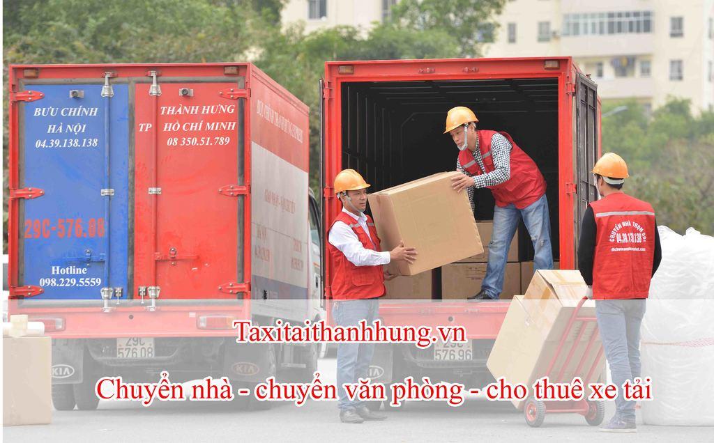 Thành Hưng - dịch vụ vận tải uy tín . Liên hệ ngay với Taxit... via Taxi tải Thành Hưng