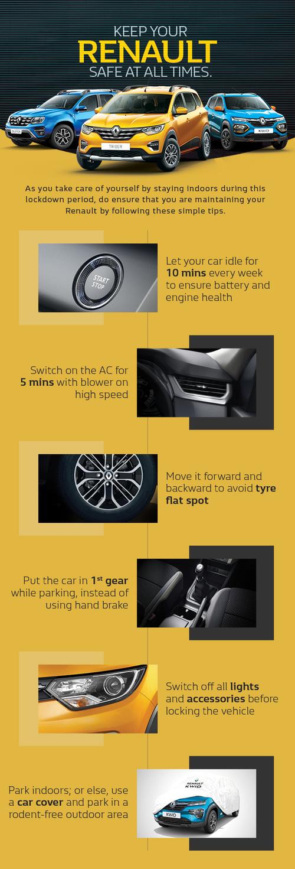 Keep your Renault safe at all times. via Manas Sharma
