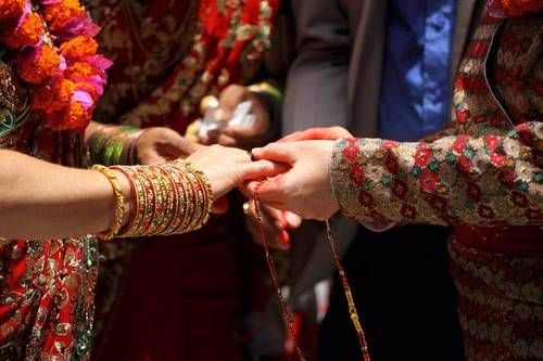 Inter caste love marriage in Ajmer via Pandit daulat ram ji
