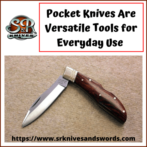 Pocket Knives Are Versatile Tools for Everyday Use                                                                          Are you ... via S&R Knives