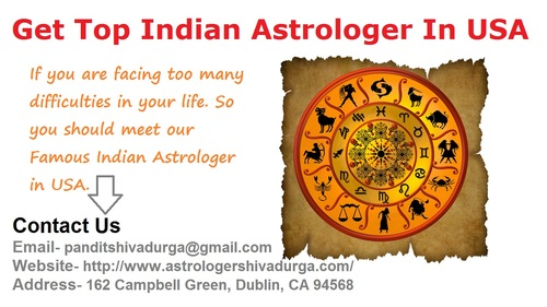 Where you will get Top Indian Astrologer In the USA? via Astrologer Shiva Durga