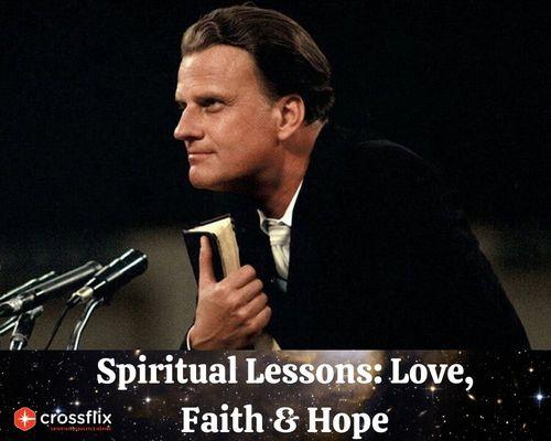 Get Spiritual Lessons of Billy Graham's Sermons 24/7 at Cros... via Cross flix