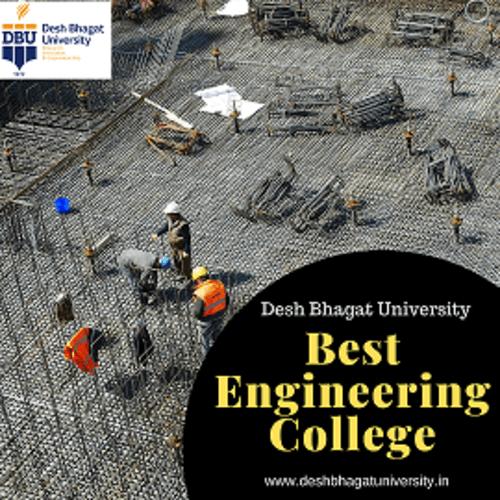 Best engineering college in Punjab via Desh Bhagat University