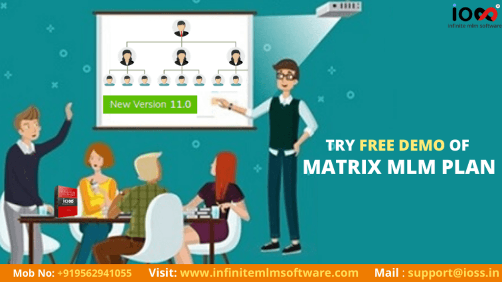 Try Free Matrix MLM Software Demo via Infinite MLM Software