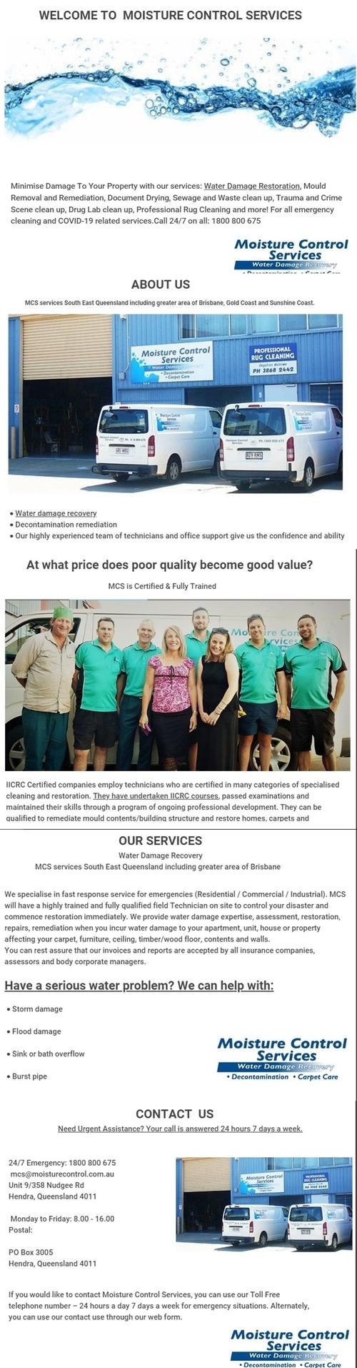 : Water Damage | Water Damage Brisbane | Water Damage Restor... via Moisturecontrol