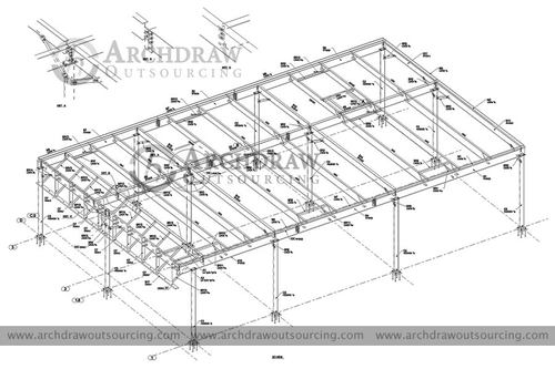 Contact us for high quality Structural Steel Detailing Servi... via C.Chudasama