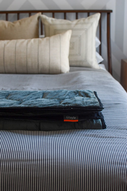 What's in a Weighted Blanket?