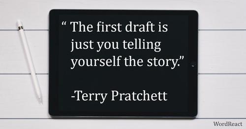 Writing Quote via WordReact