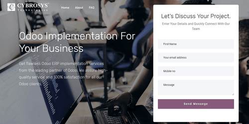 Odoo Implementation Services | Best Odoo Implementation Company