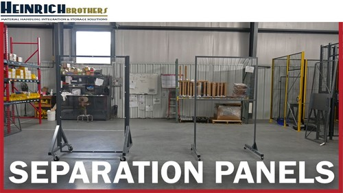 Employee Separation Panels to keep your employees safe - Hei... via heinrichbrothers