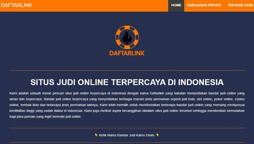 Daftarlink Situs Judi Online's COVER_UPDATE via Daftarlink Situs Judi Online