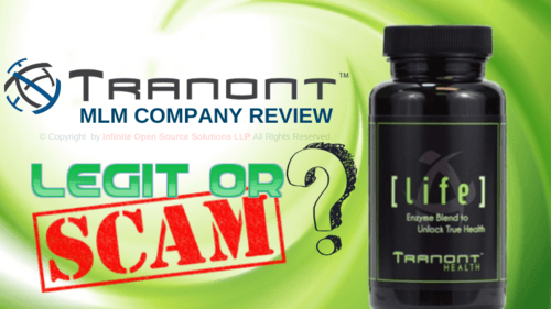 Tranont MLM Company Review - Is it Scam or Legit Business Opportunity?