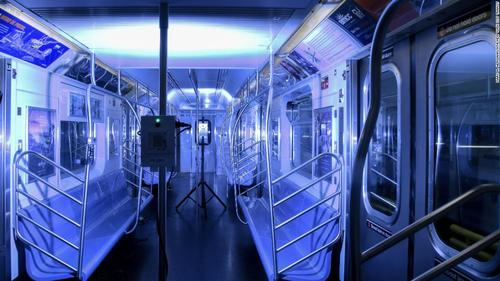 New York transit agency launches UV light pilot program in effort to kill Covid-19