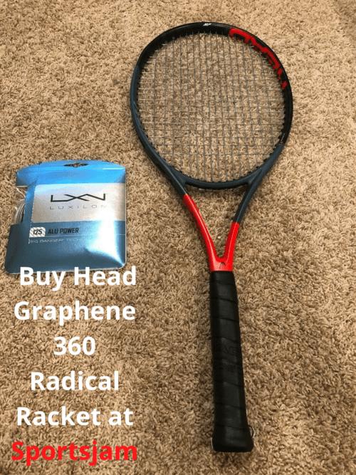 Buy Head Graphene 360 Radical Racket at Sportsjam via Sports Jam