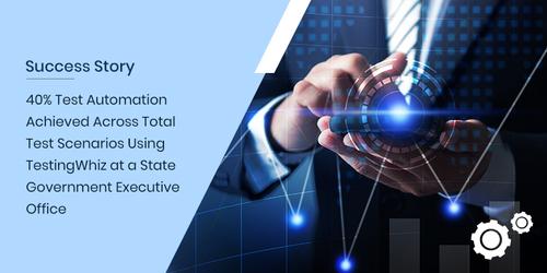 40% Test Automation Achieved Across Total Test Scenarios Usi... via Harshal Jani