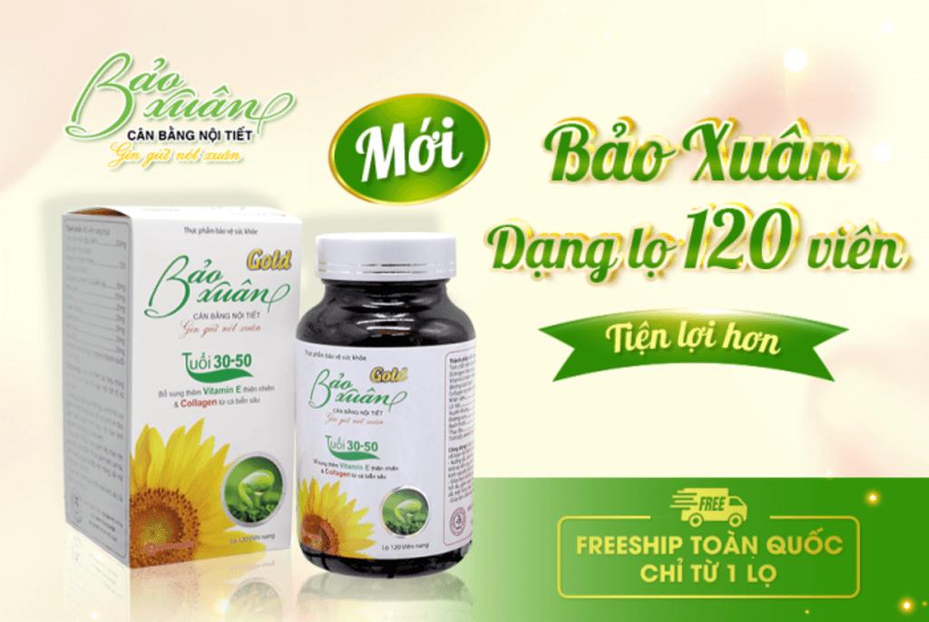 Bảo Xuân với thành phần tinh chất mầm đậu nành tự nhiên, col... via linh mai