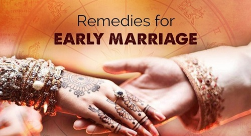 Remedies For Early Marriage and Marriage Delay - Astrologer Vidya