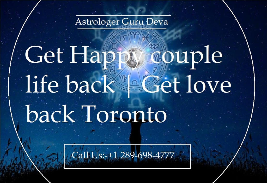 Get Happy couple life back | Get love back Toronto                                                                                   If you ... via Astrologer Guru Deva ji