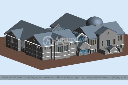 Contact us for high-quality CAD to BIM Conversion Services via C.Chudasama