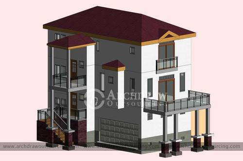 High accurate Architectural BIM services in Australia via C.Chudasama