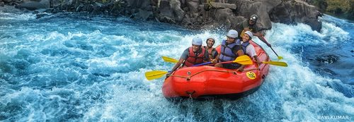 River Rafting in Goa | Monsoon White Water Rafting | Lowest Price