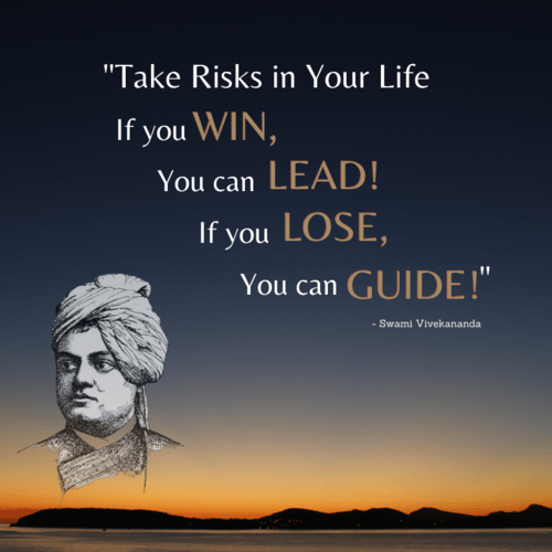 """Take Risks in Your Life If you WIN, You can LEAD! If you LO... via XongoLab Technologies LLP"