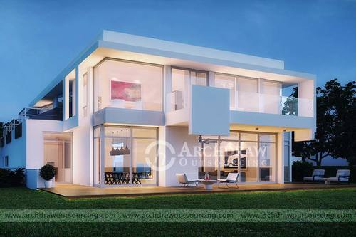 Architectural 3D Rendering Services – Archdraw Outsourcing via C.Chudasama