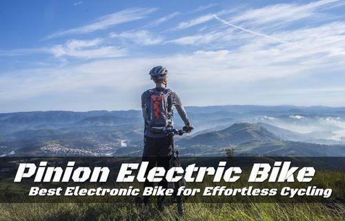 Pinion Electric Bike - Best Electronic Bike for Effortless Cycling • ModernLifeBlogs