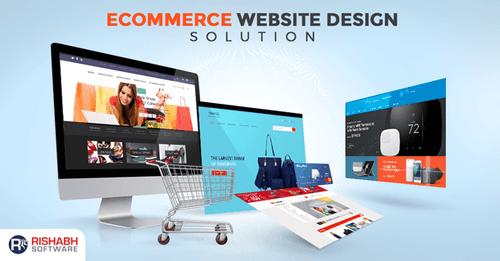Custom eCommerce Web Design Services   Ecommerce Website Solutions