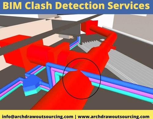 BIM Clash Detection Services – Archdraw Outsourcing via C.Chudasama