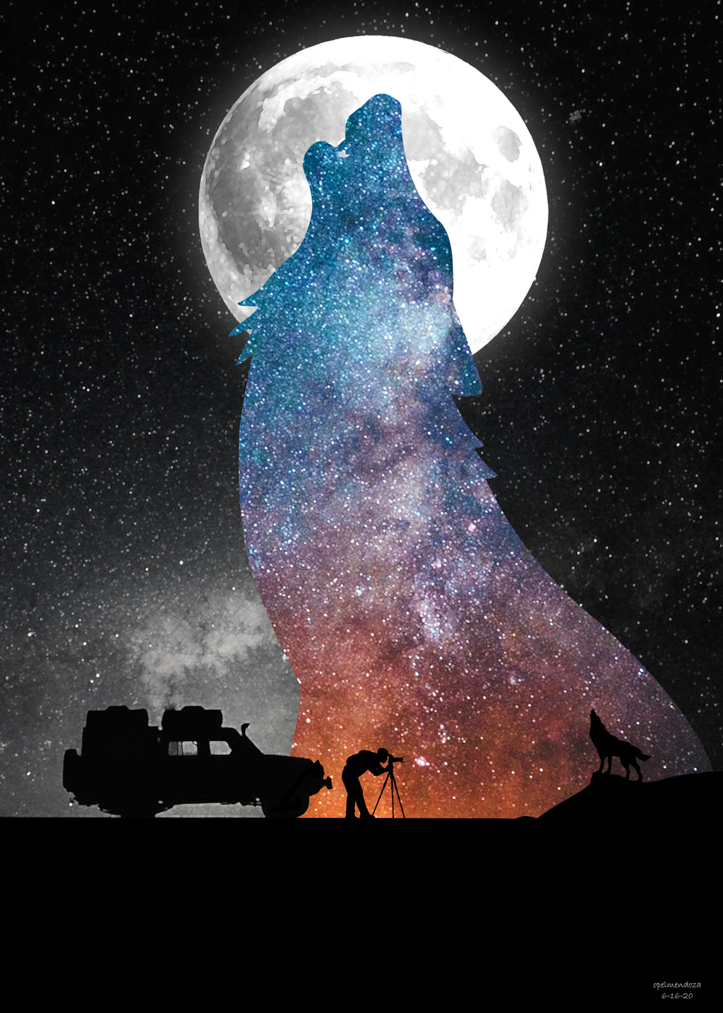The Wolf via Opel Mendoza