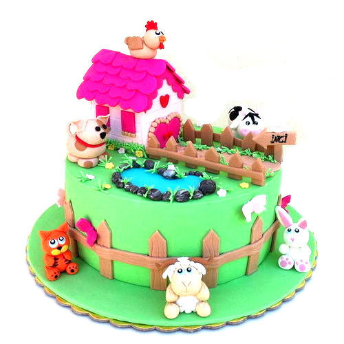 Kid's birthday cakes can create wonder and amazement. A cake... via Subash Dev