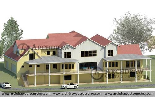 Architectural 3D Modeling Services in USA via C.Chudasama