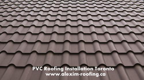PVC Roofing Installation via andrewstanley