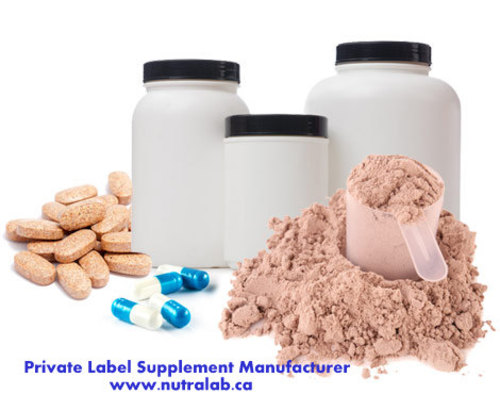 Private Label Supplement Manufacturer via andrewstanley