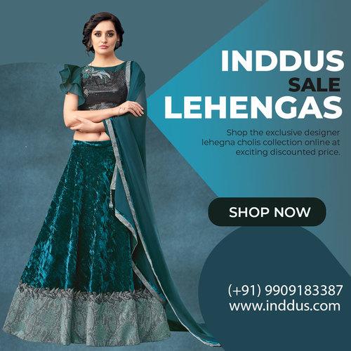 Inddus Lehenga Cholis Online via Sagar Singh