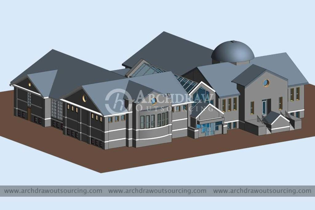 Contact for BIM Outsourcing Services for your next project via C.Chudasama