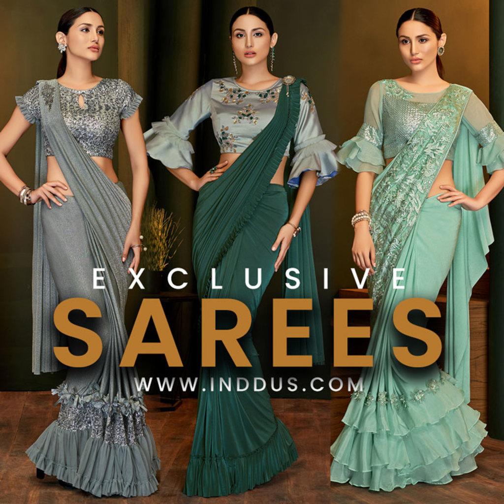 Exclusive Sarees via Sagar Singh