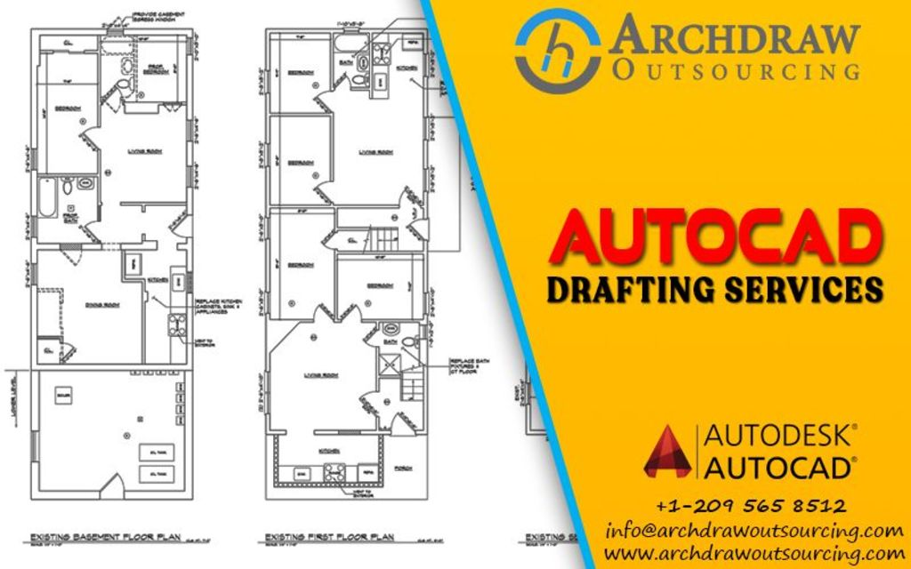 Archdraw Outsourcing  – CAD Drafting Services at Cost-Effect... via C.Chudasama