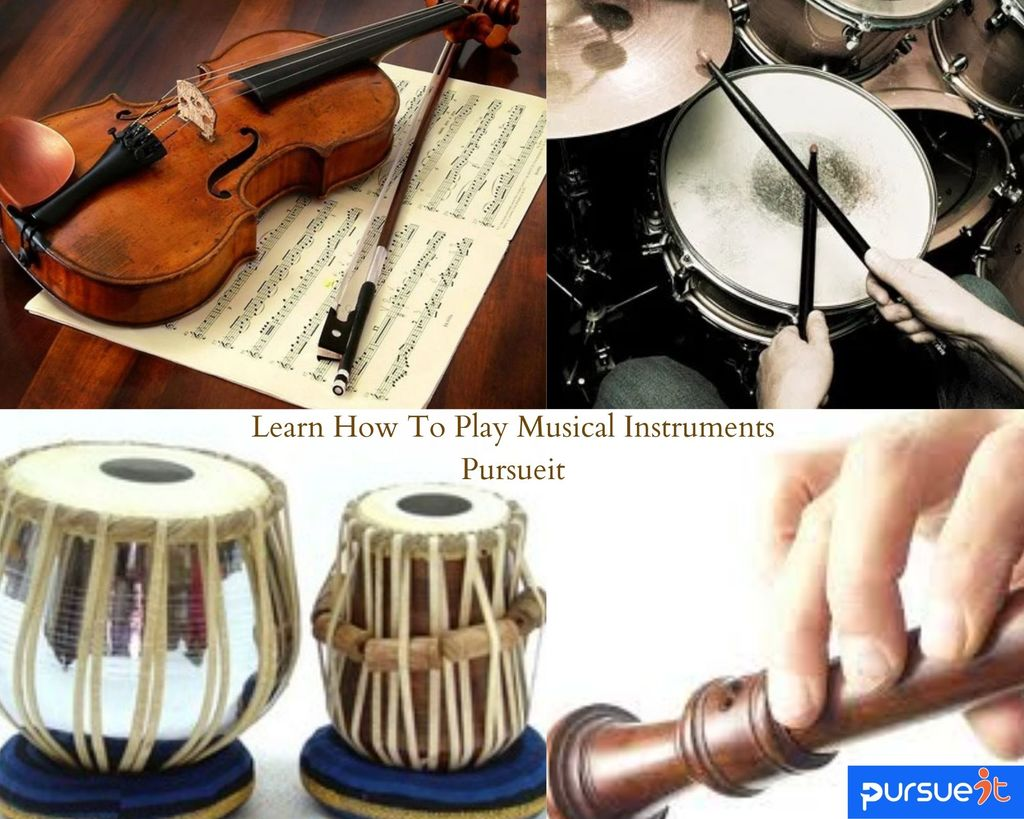 Music Instrument Classes in Dubai for all ages                                                                                  Learn how to... via pursueit
