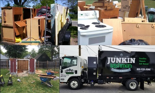 Get an Instant Junk Removal & Garbage Removal Services in Ru... via Junkin' Irishman
