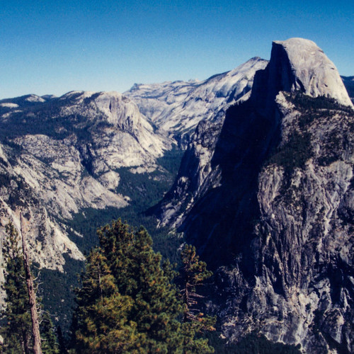 Purchase digital downloads and a range of printed products of Jon Davatz Photography's image - El Capitan - Analog 1997