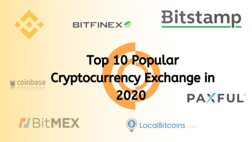 Top 10 Cryptocurrency Exchanges in 2020
