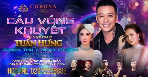 Ask questions for Tuan Hung liveshow, receive a rain of gift... via Viet Nam Casino
