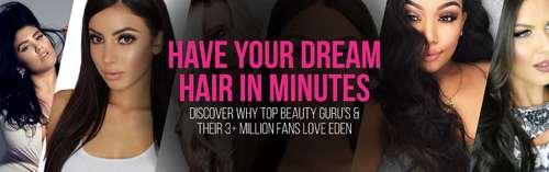 Eden Hair Extensions's COVER_UPDATE via Eden Hair Extensions