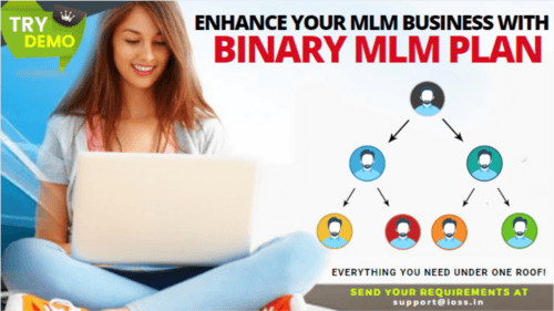 The beauty of the Binary plan is that it gives importance to... via Infinite MLM Software