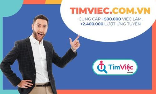 Chất lượng hồ sơ ứng viên của gói TVCV3 rất tốt, chỉ sau 1 t... via HR Tim Viec